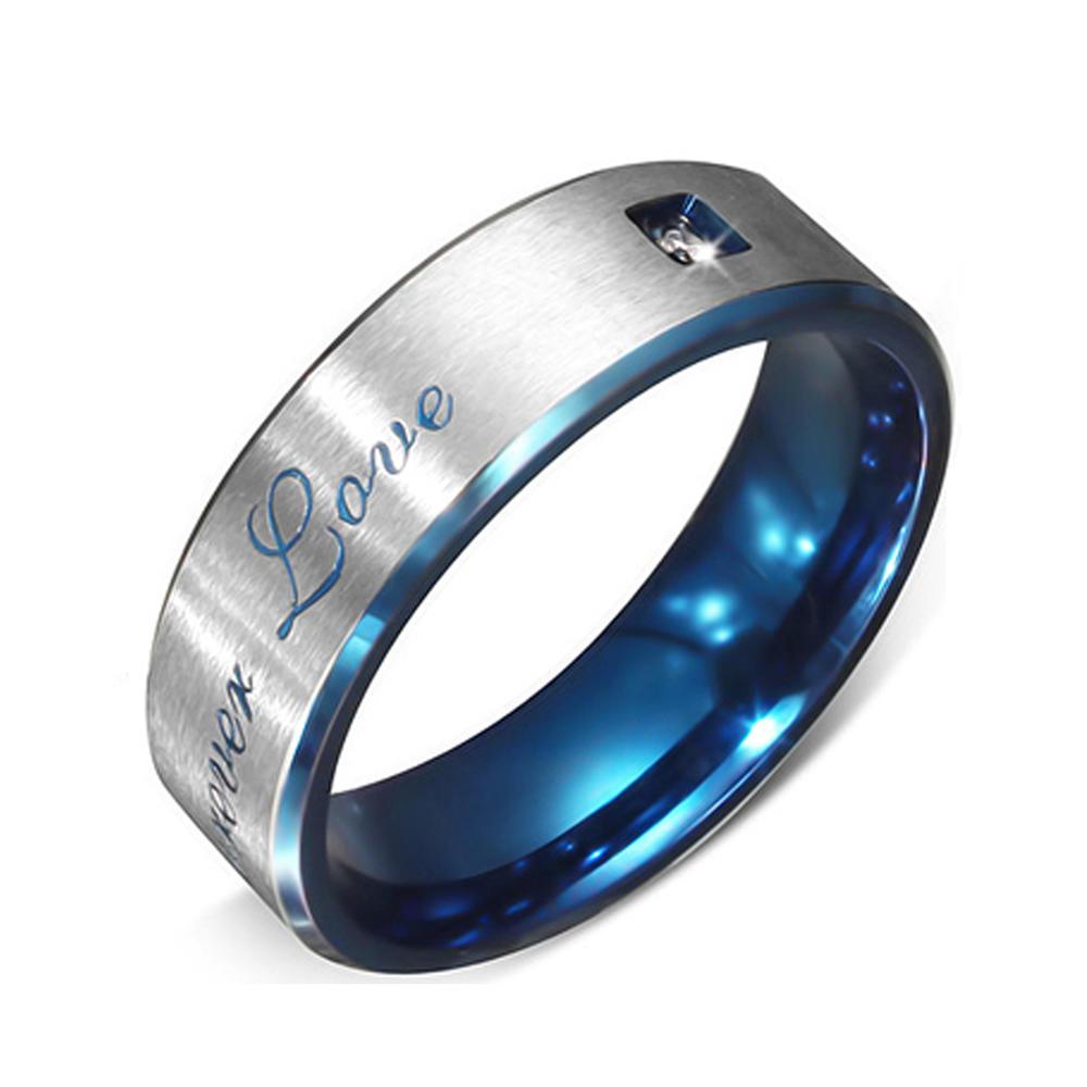 customized engravings OEM jewelry man or woman stainless steel fancy rings