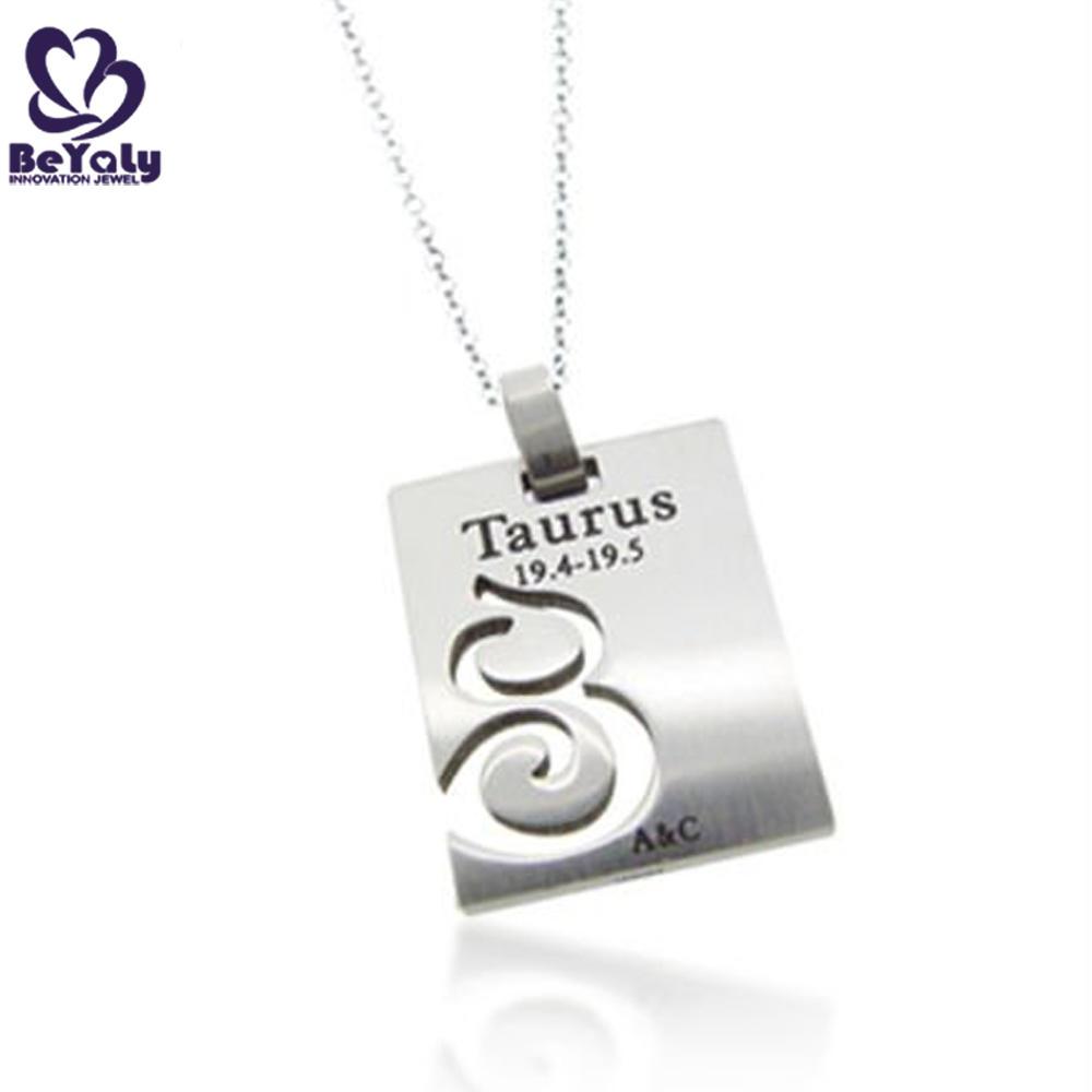 Wholesale custom aquarius horoscope hiphop jewelry pendants
