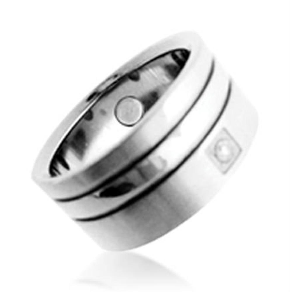 New model shiny smart woman stainless steel bear ring