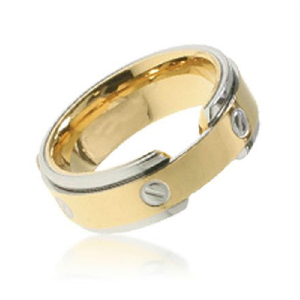 gold filled plated titanium jewelry
