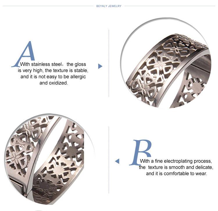 Latest hollow carved bulk custom boy and girl friendship fitness bracelets