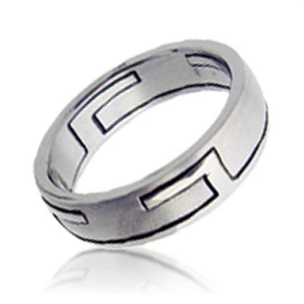 Most Popular Curve Design Titanium Jerwerly Silver