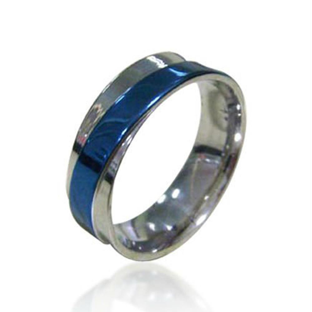 Simple design stainless steel thumb rings for men