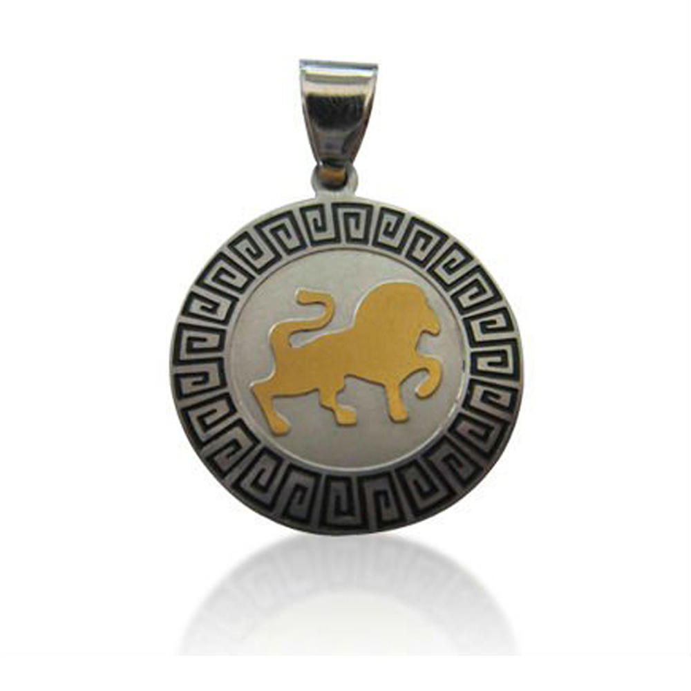 Antique Design Hot Selling Wholesale Stainless Steel Lion Pendant