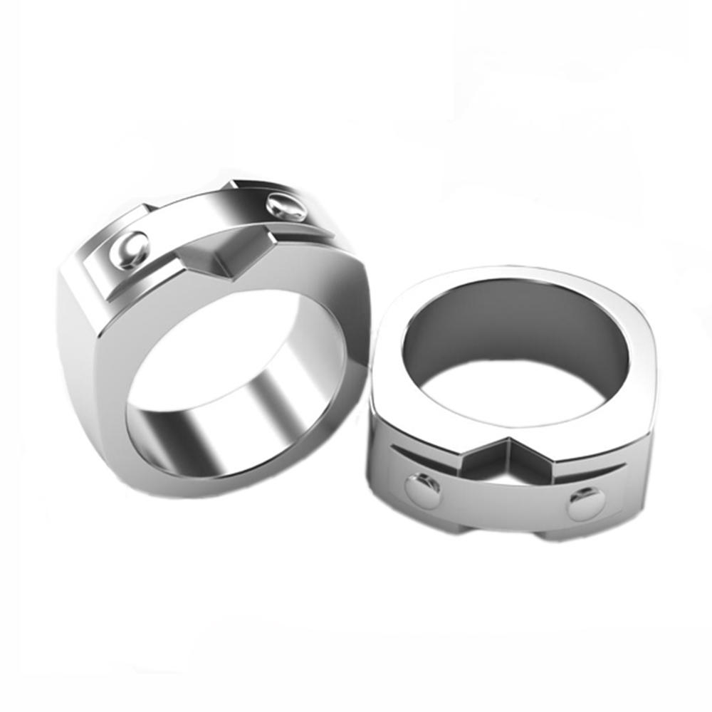 Shiny polished best price blank men's titanium rings