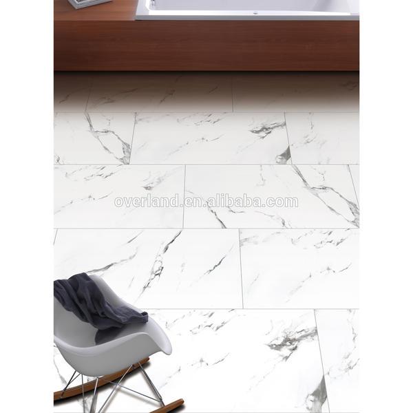 White ceramic carrara white tile