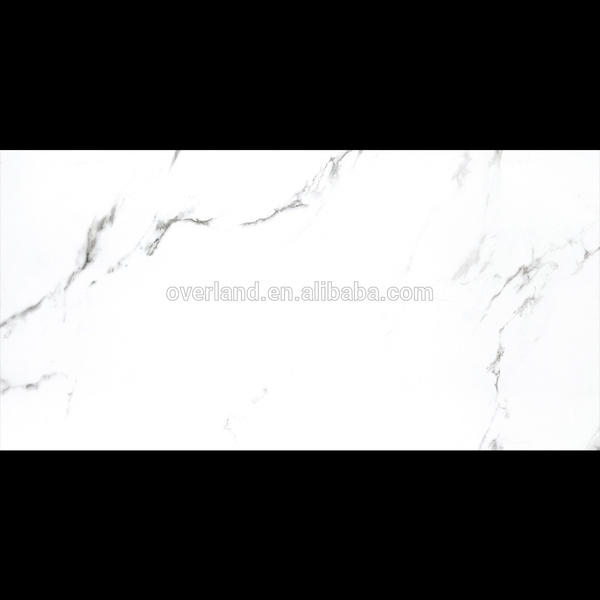 White statuario ceramic tiles