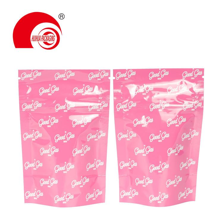 Custom Printing Slide Mylar Ziplock Bag Child Proof Pouch Child Resistant Exit Bag