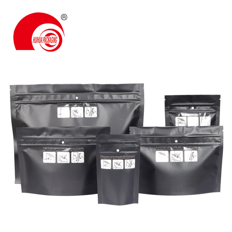 Customized child resistant cookies packaging mylar ziplock plastic bag for snack food packaging