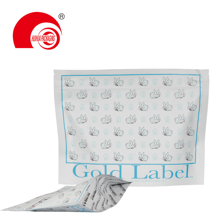 product-Huihua-Eco-Friendly Food Packaging Plastic Child Proof Resistant Bags Zip Lock Packet Custom