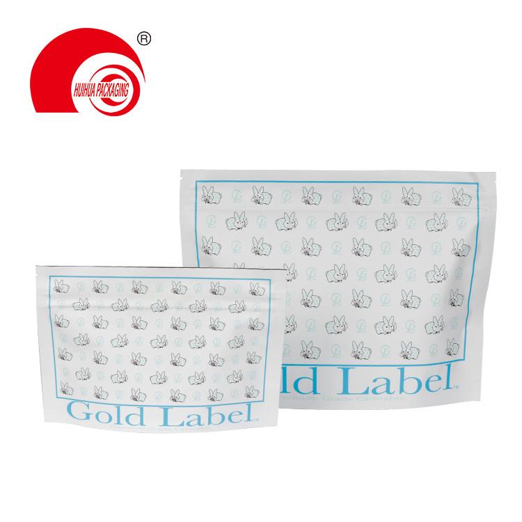 Eco-Friendly Food Packaging Plastic Child Proof Resistant Bags Zip Lock Packet Custom Storage