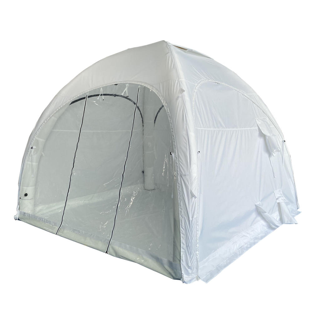 4x4m fast shippingemergency medical tent/inflatable dome medical tent//