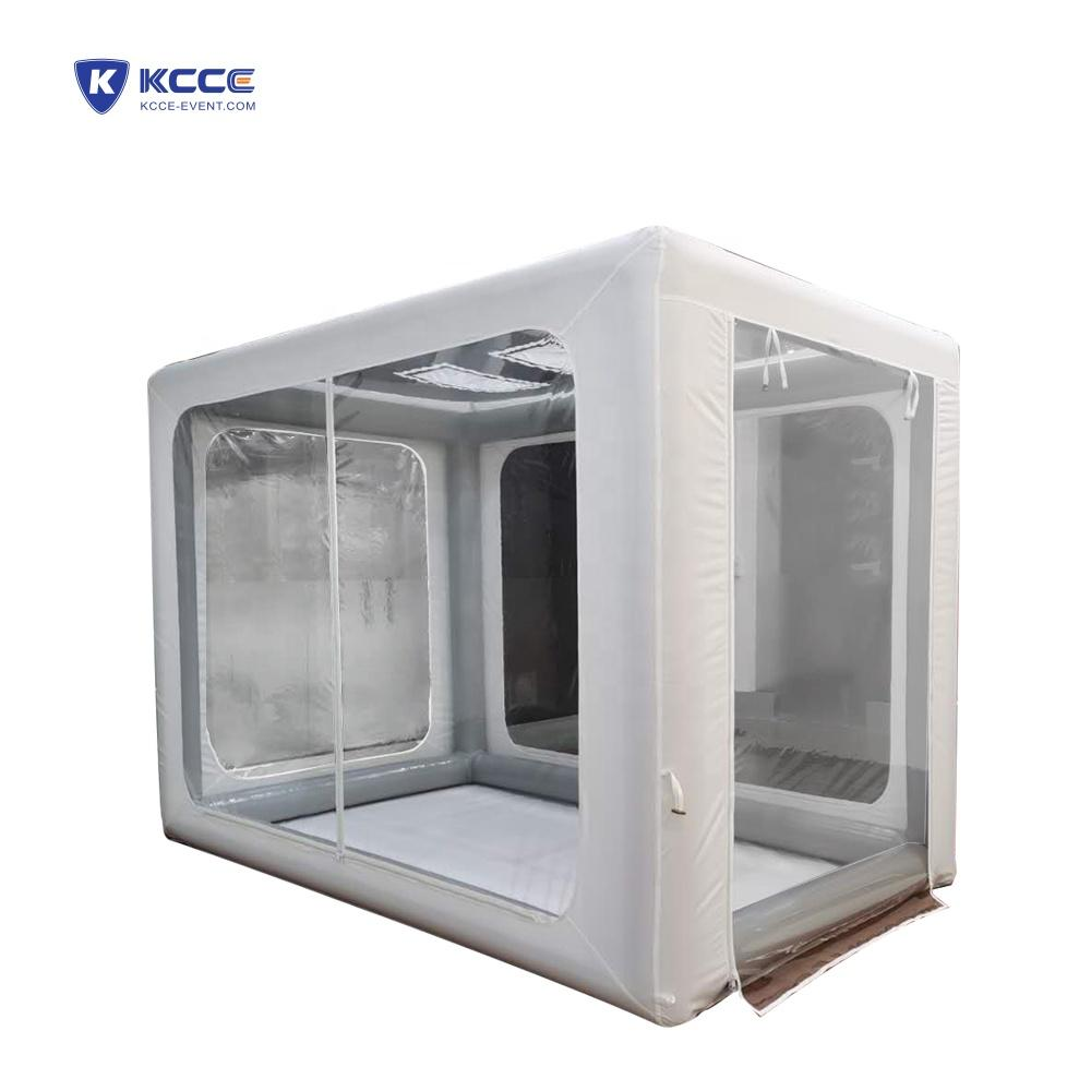 Pop Up emergency PVC inflatable isolation tents,medical tent, hospital isolation private tent//