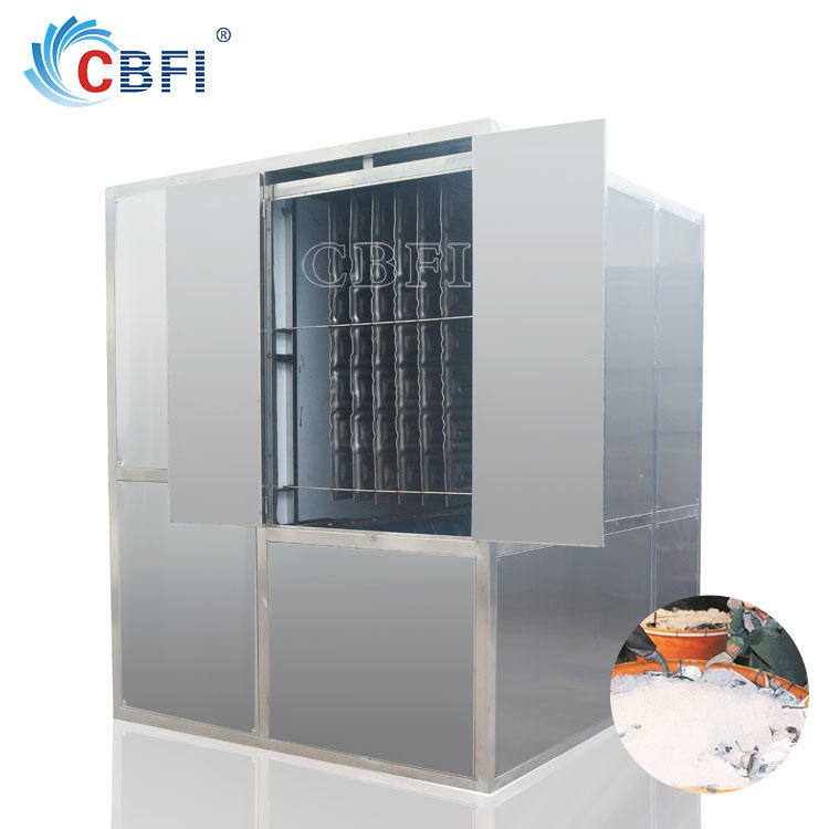 Easy automatic operation plate ice maker to make ice for cooling