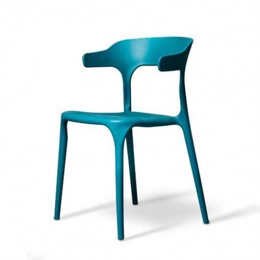 New Design Monoblock Chair Plastic Powder Coating Steel Table Leg