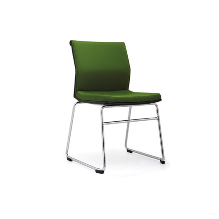 Office Furniture conference chair /office chair with charm sled base /stackable training chair