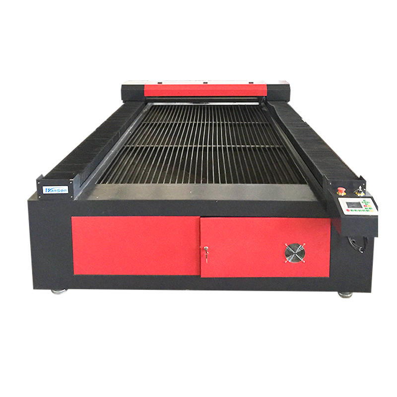 Transon hot sale 1325 cnc cutting machine co2 laser with lower price