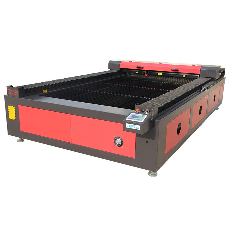 Jinan Transon Organic Glass Laser Cutting Machine 1525 For Sale 2500*1500mm 80w 100w 130w 150w