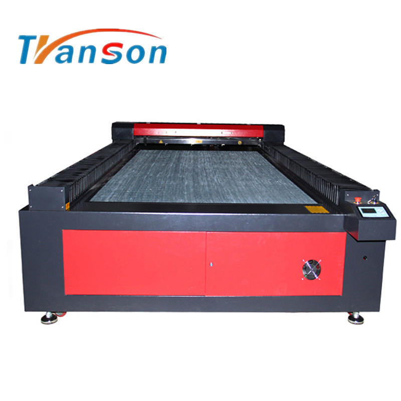 Hot Sale 100w Reci CNC Flatbed Large Size Plywood Cloth Co2 Laser Cutting and Engraving Machine TS1530