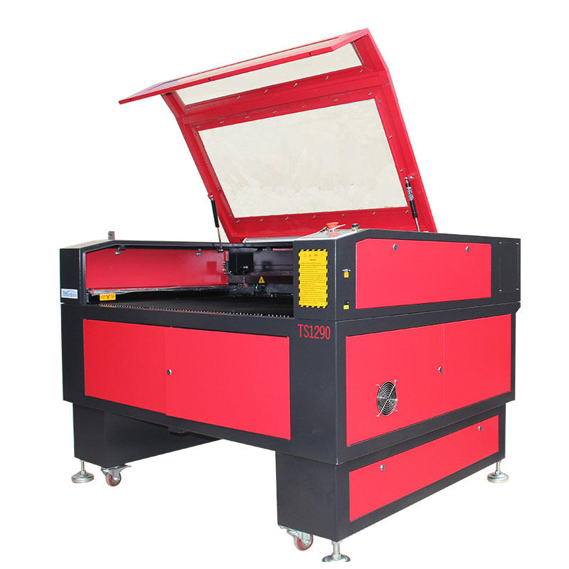 Cheap CNC laser type plexiglass cutting machine 1290