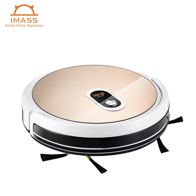 robotic automatic cleanerfloor cleaning robot gyro navigation cheap Robot Vacuum Cleaner wet and dry wireless withWIFI APP