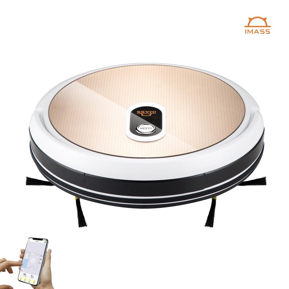 Tuya Wifi best selling Sweeping robotic vacuumsmartcleaner ash robot vacuum cleaner household smart robot vacuum