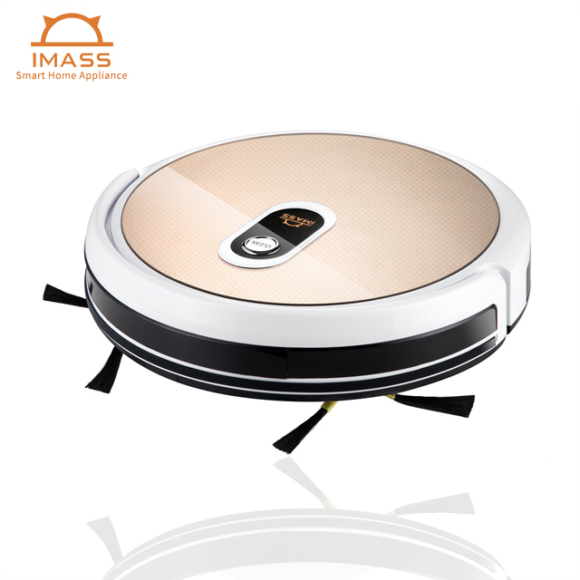 smart robot vacuum cleaner IMASS Robot Vacuum Cleaner with HD Camera & WIFI APP & Mop(color black as default)