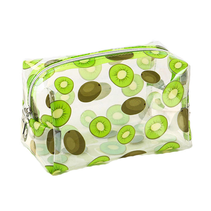 Multifunction Waterproof Transparent Cosmetic Cute Bags Storage Pouch Makeup Organizer Clear Case Toiletry Bag PVC Zipper Travel