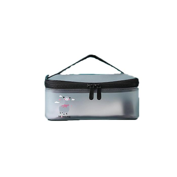 2020 new Hot Sale PVC Cosmetic Bag Waterproof Women Make Up Case Travel Clear Makeup Beauty Wash Organizer Bath Toiletry