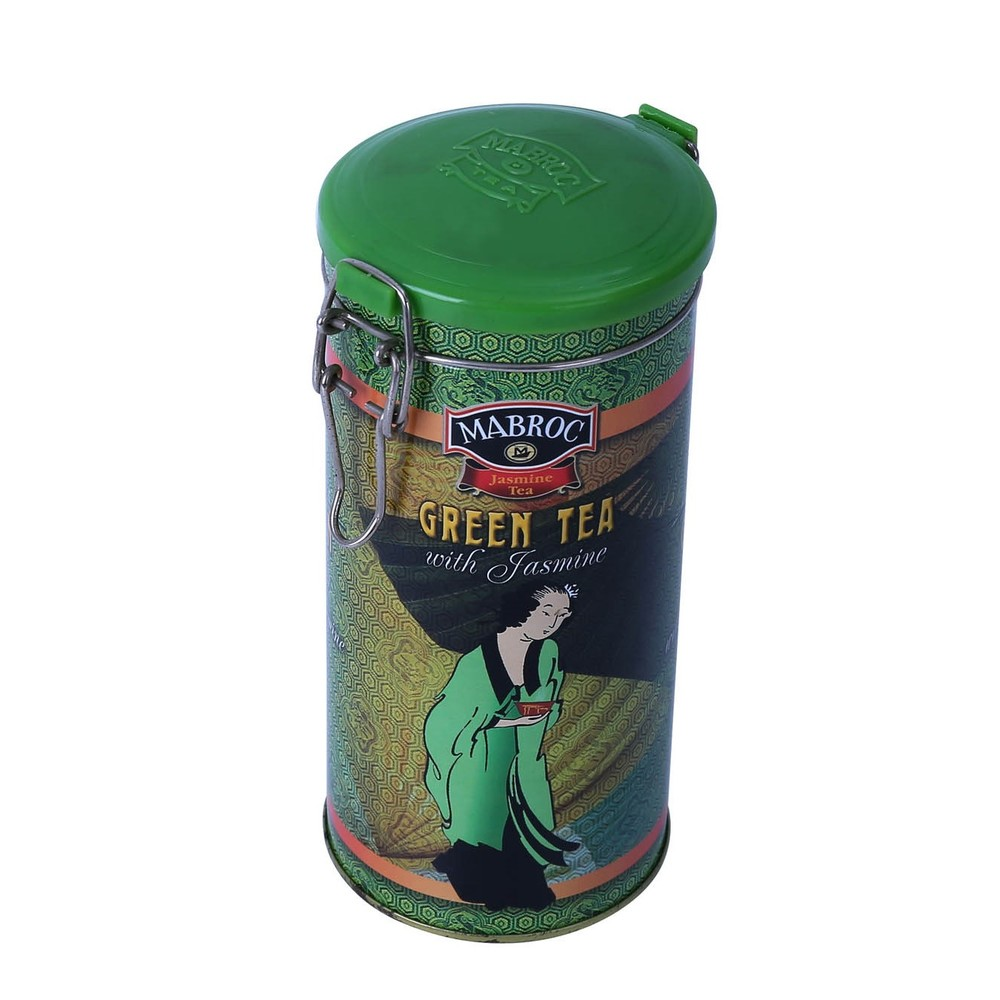 High repurchase rate round tea tin gift box airtight tin packaging metal coffee teatin can with clasp