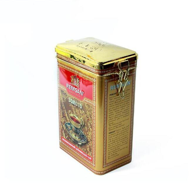 Bodenda food grade custom tea tin box coffee can packing with clap