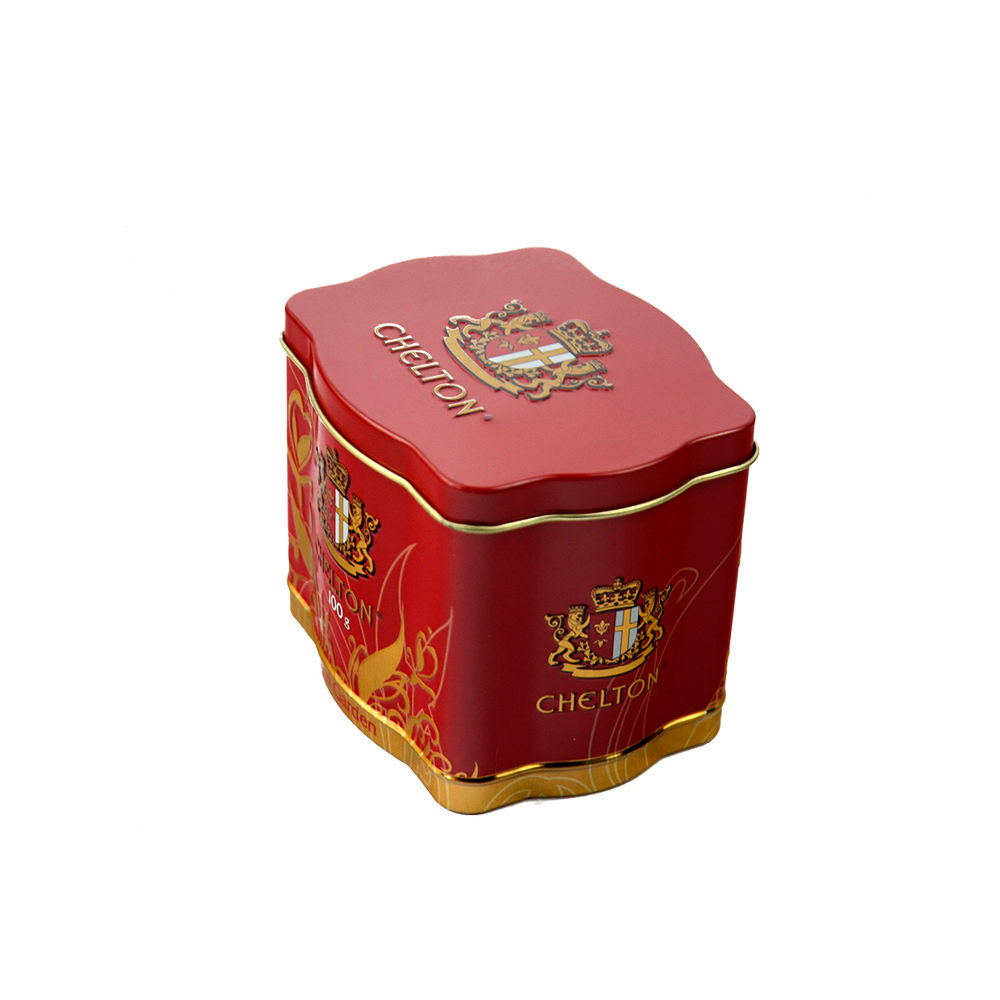 Wholesale custom tea tin canstea container factory price empty can