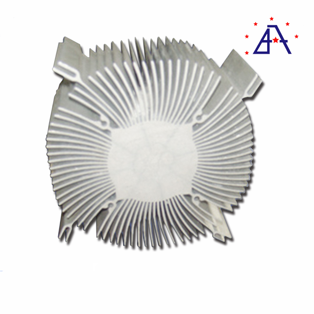 China Made Industrial Extruded Aluminum heatsink for machine