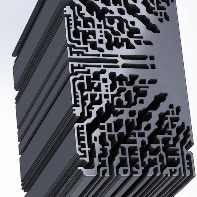 6063 T5 Extruded Aluminum Heatsink