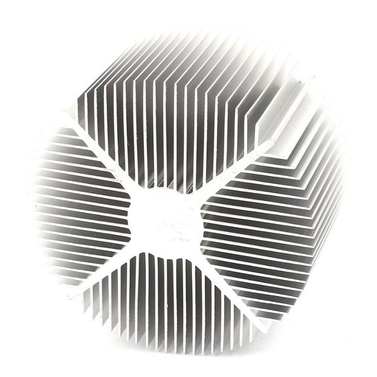 Round Extruded Aluminum Heatsink for High Power Machine