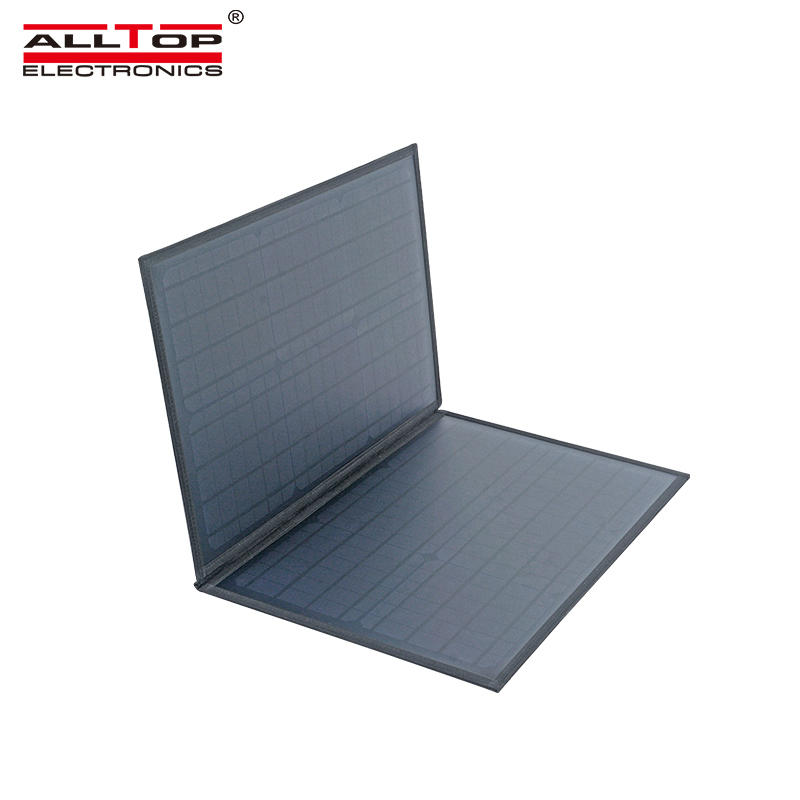 ALLTOP High efficient power generation waterproof USB interface 60w portable folding solar panel