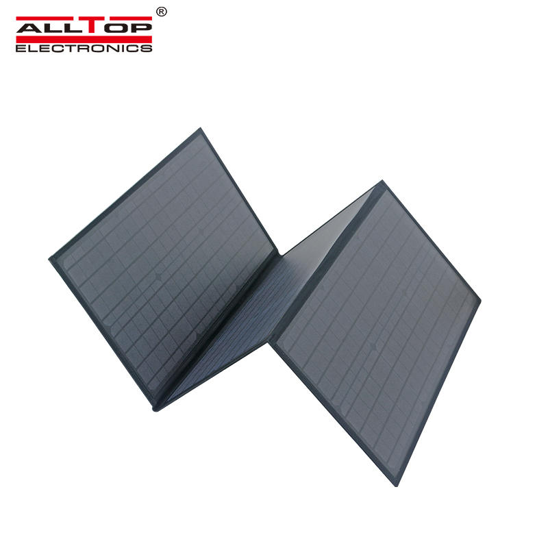 ALLTOP High power camping solar panel folding charger 6v portable foldable solar panel