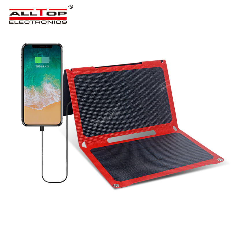 ALLTOP High efficient power generation solar panel aging resistance waterproof foldable solar panel