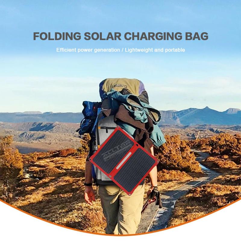 ALLTOP High efficient power generation solar panel aging resistance waterproof foldable solar panel