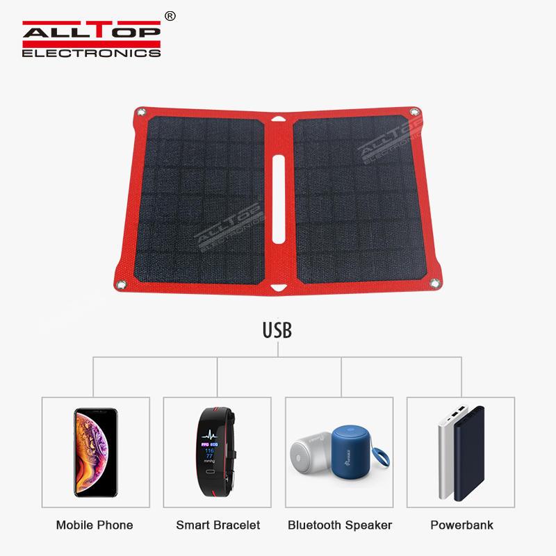 ALLTOP Hot sale efficient power generation waterproof and sunscreen folding solar panel