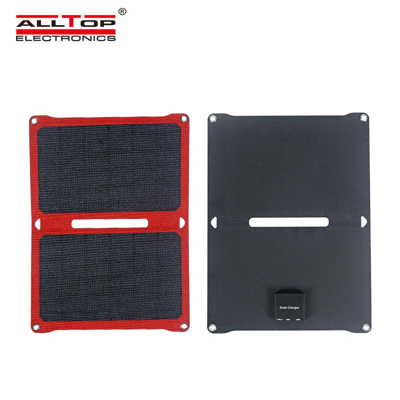 ALLTOP Hot sale efficient power generation waterproof and sunscreen folding solar panel