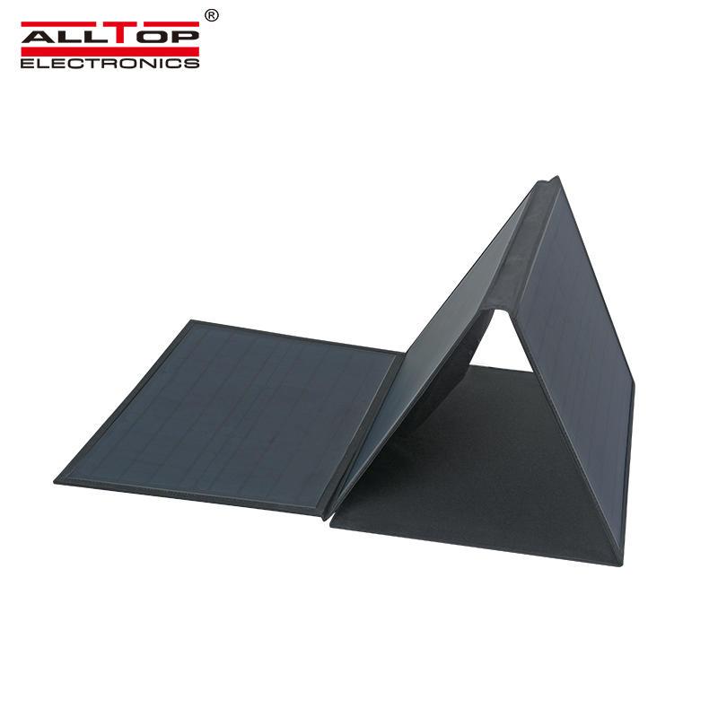 ALLTOP China manufacturers 120W 18Volts Monocrystalline Folding Solar Panel