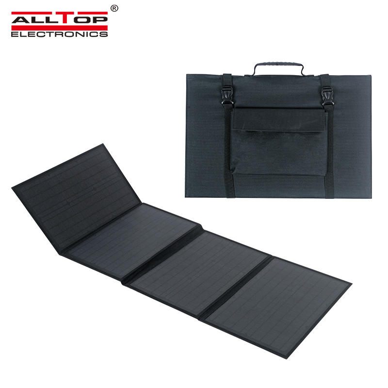 ALLTOP High efficient power generation Lightweight waterproof portable foldable solar panel