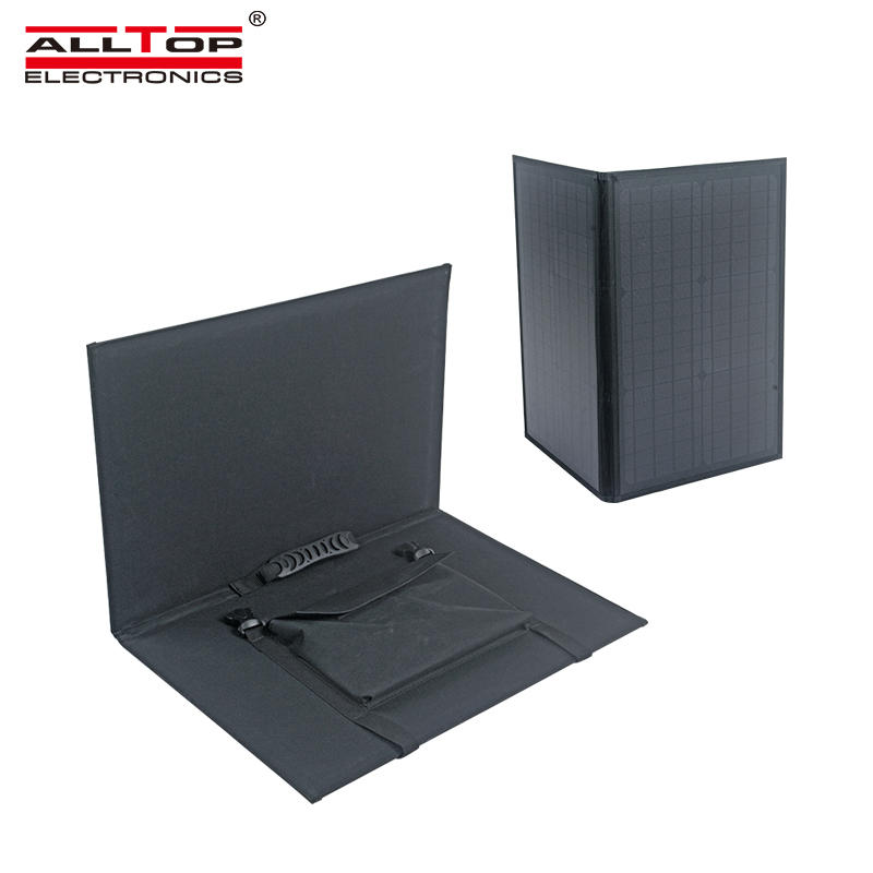 ALLTOP Solar power panel waterproof 60w foldable solar panel for outdoor use