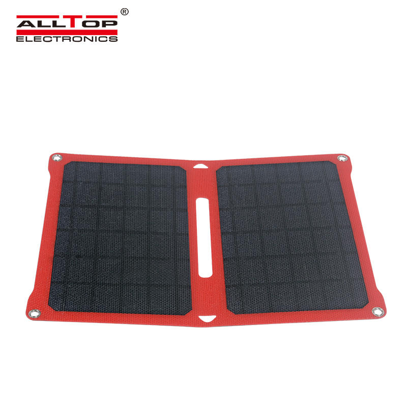 ALLTOP New products waterproof sunscreen folding solar panel Can charge mobile phones tablets digital cameras