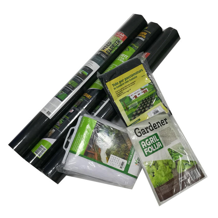 Nonwoven Polypropylene Weed Barrier Landscape Fabric 50g/m2x1mx25m