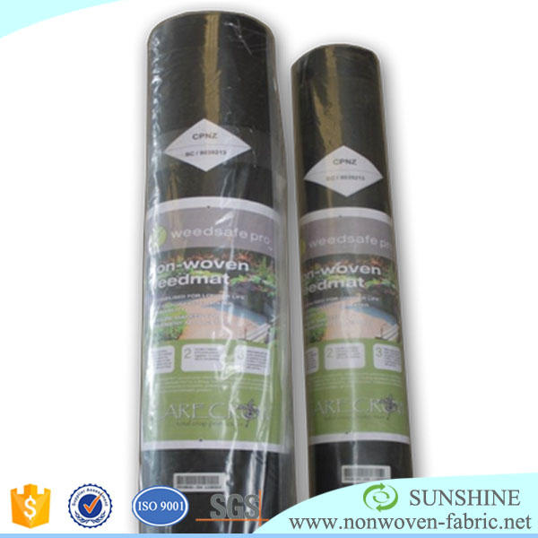 Spunbond nonwoven fabric weed control cloth , weed control mat