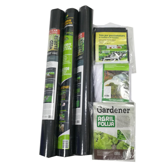 Nonwoven Polypropylene Weed Barrier Landscape Fabric