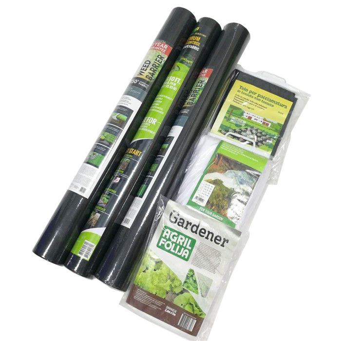 PPSB material small fabric roll for weed control