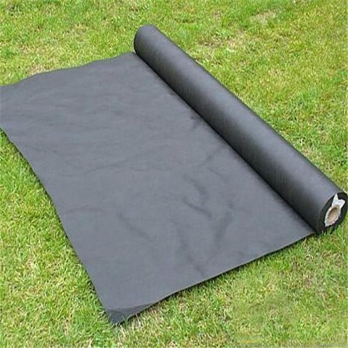 Agriculture PP Nonwoven Weed Mat Control Fabric Garden black color Garden Landscape Fabric